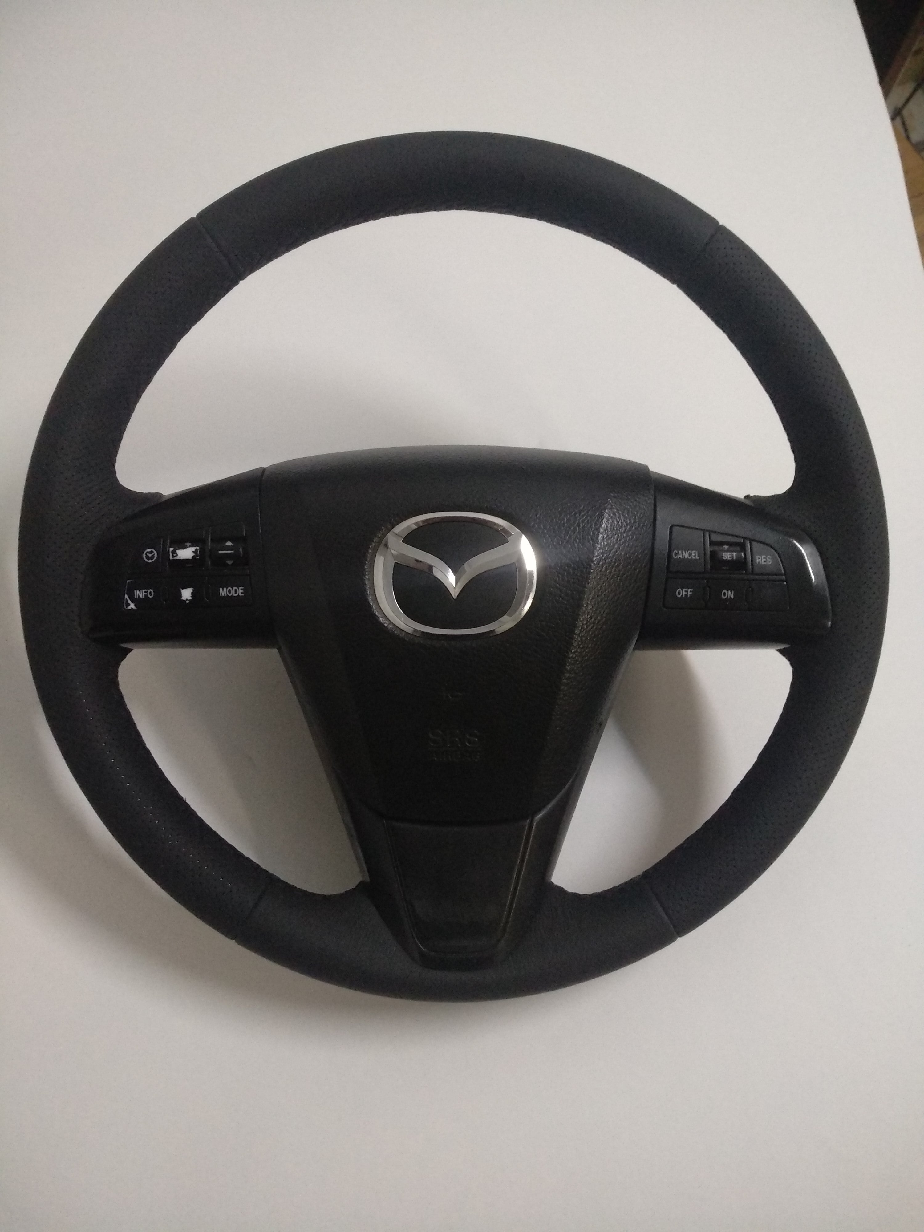перетяжка руля Mazda, Мазда
